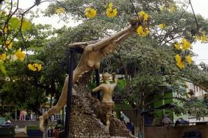 Una estatua en Segovia