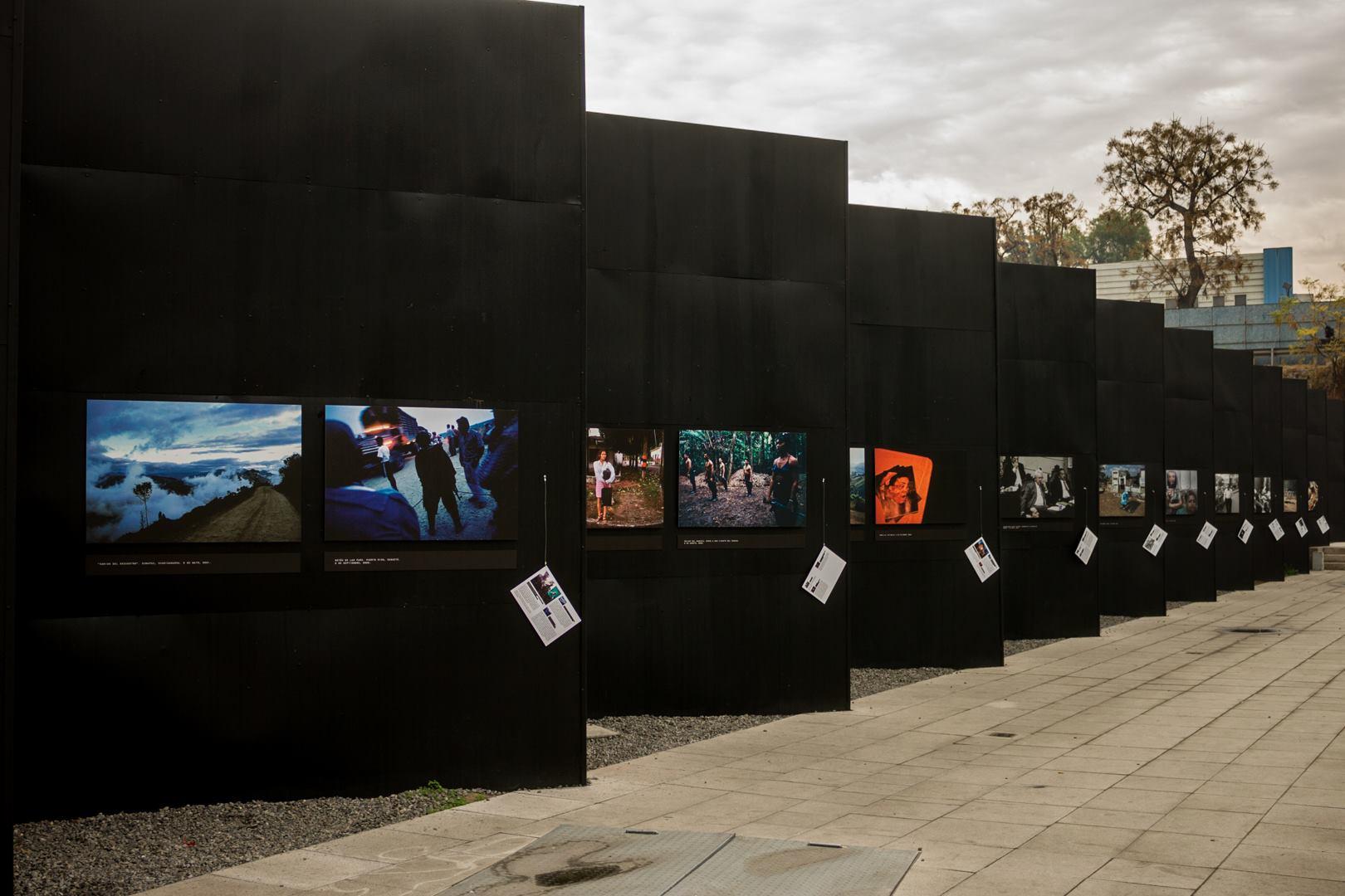 Exhibición de Violentología en el Museo de la Memoria y los Derechos Humanos en Chile